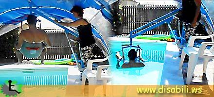 Sollevatore a bandiera con fissaggio a bussola economico - Sollevatore piscina per disabili ...