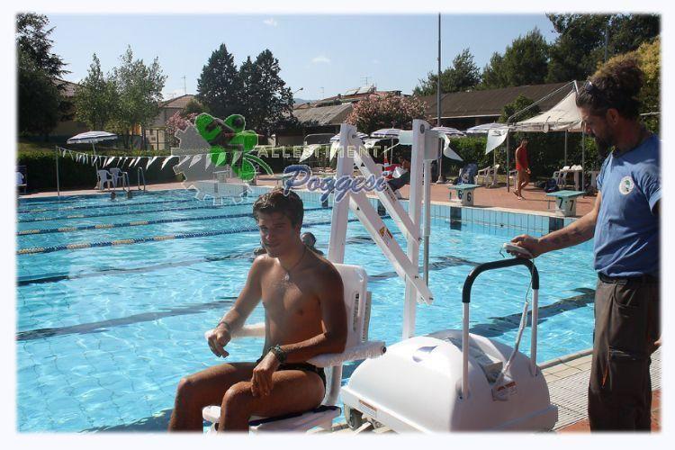 Sollevatori Mobili Per Piscina : Sollevatore mobile per piscina per disabili pal elettrico