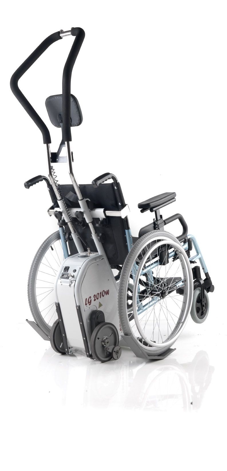 Montascale A Ruote Universale Per Carrozzina Disabili E Anziani
